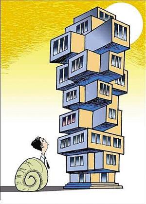 看房、买房、住房、租房 一间房让人很揪心