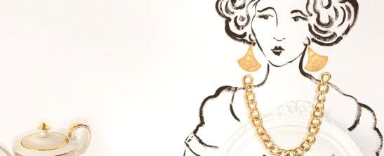 趣味珠宝插画 疯狂主妇的黄金时代