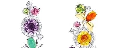 奢华几何 完美圆形珠宝
