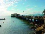 南丫岛码头 都市与淳朴岛屿的分界线