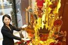土豪的礼物 日本珠宝商推出3100万元纯金圣诞树
