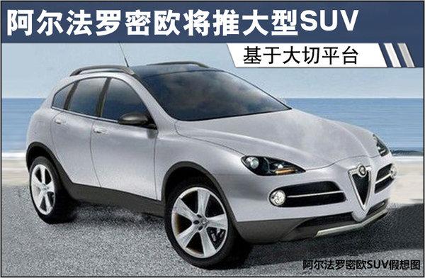 阿尔法罗密欧将推大型SUV 基于大切平台