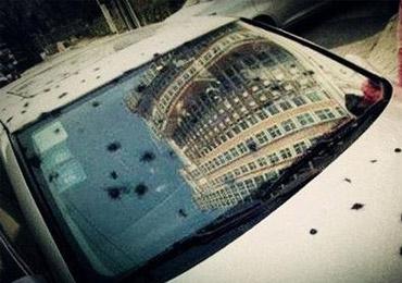 春节将至 建议车主购买玻璃险防鞭炮炸车