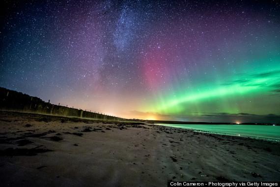漫天星辰漫步海滩 全球13个最美星光海滩掠影