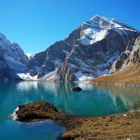 徒步穿越乌孙古道 在天堂湖遇见天堂