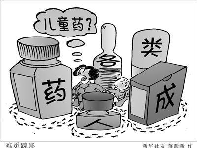 国内市场常见药难觅儿童剂型