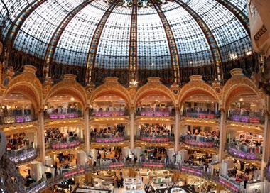 巴黎老佛爷商场 何以成为景点