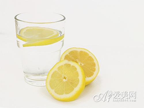 柠檬水美白润肤 冲泡柠檬的6点小注意