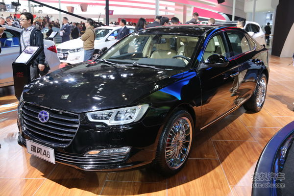 江淮瑞风A6将于年底上市 预售18-25万元