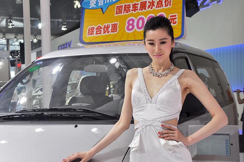 2014深港澳国际车展 美女车模来袭