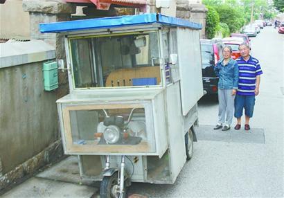 六旬老汉将三轮车改成房车 陪老伴游遍中国