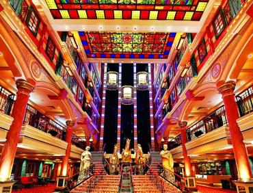 丽星邮轮 以香港为母港的国际邮轮