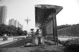 无名公交站废弃数年
