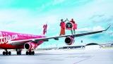 亚洲航空新增139条中转联程航线