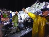 台湾一客机雨中坠毁47人罹难