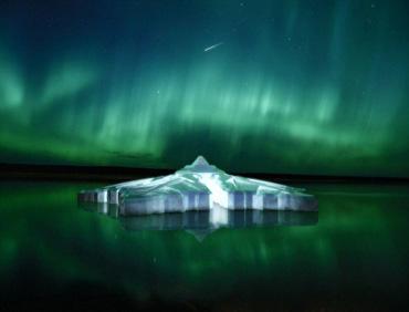 """北极圈将建""""水晶雪花""""旅馆"""