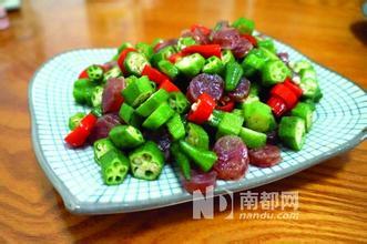 蔬菜新贵黄秋葵滞销 跌至2元/斤