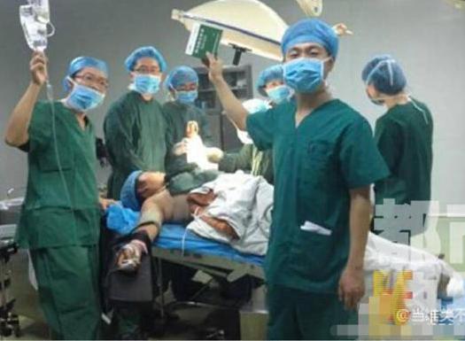 手术室自拍为两台手术 医生仍难入睡