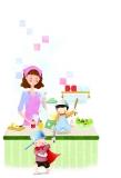 让孩子在锅碗瓢盆中认识生活