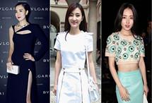 2015时装周华人女星造型