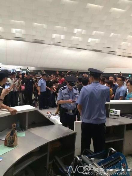 曝深圳宝安机场航班大面积延误