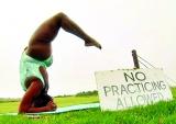 谁说胖姑娘练不好瑜伽?