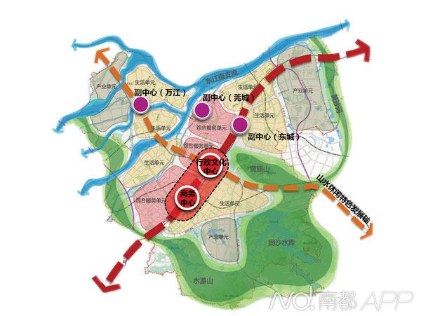 林江认为,东城和南城是东莞4个城区中的双巨头,可以说不仅存在竞争图片