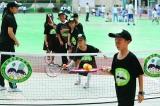 校园网球18天让小学生感受网球乐趣