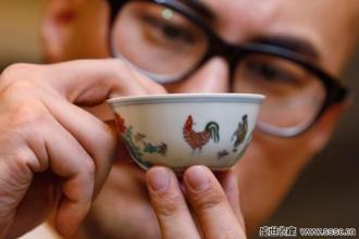 花2.8亿买鸡缸杯的土豪来晒宝了
