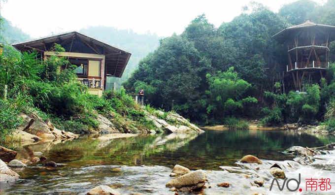 该项目位于国家4a级旅游景区南昆山生态旅游区内,南昆山生态旅游区
