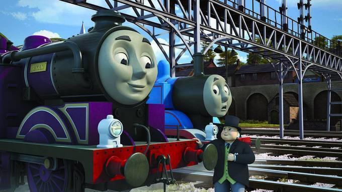 儿子创造了托马斯小火车