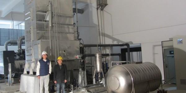 广州团队研发国内首套柴油机废热海水淡化系统成功出水