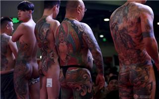 猎奇 | 上海国际纹身节展示刺在皮肤上的艺术
