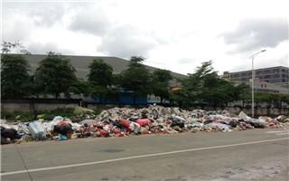 热议 | 总倡导环保 光明新区马路边垃圾堆成山却没人管理?