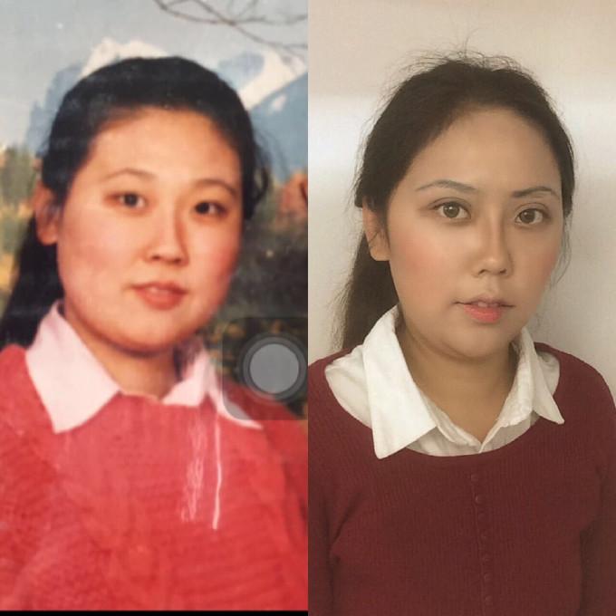 你长得和妈妈像吗?深圳女孩晒照证明自己不是充话费送的