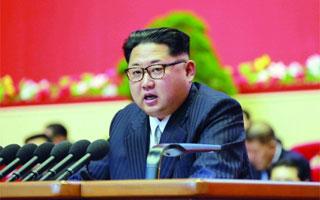 金正恩表示:朝鲜不会率先使用核武器 为实现无核化努力