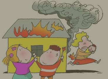 龙岗一小孩玩火殃及周边住户,小区物管被拘留15日