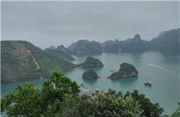 越南游记 | 下龙湾:朦胧美 明朗秀