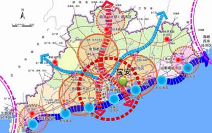 深圳部署向东交通发展蓝图 从东部到市中心仅需30分