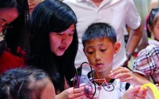 """珠海的孩子""""潮""""过六一 3D""""打印""""心仪礼物"""