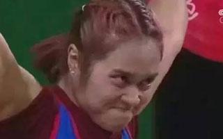 奥运选手撞脸明星,她是不是罗志祥?我的脸盲症该治了!