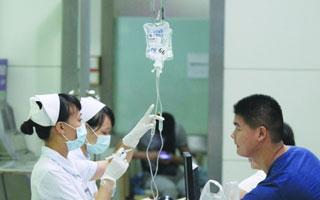 深圳取消门诊输液后有医院输液数量减半