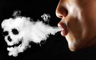 80%以上 肺癌患者长期大量吸烟