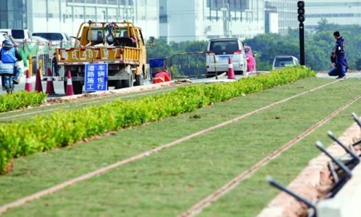 龙华有轨电车示范线预计年初试运行