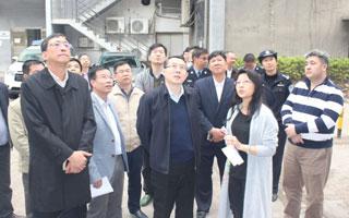 王强区长带队到招商街道检查安全生产工作