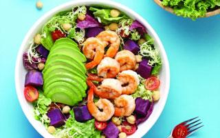 春季运动起来 健康沙拉吃起来