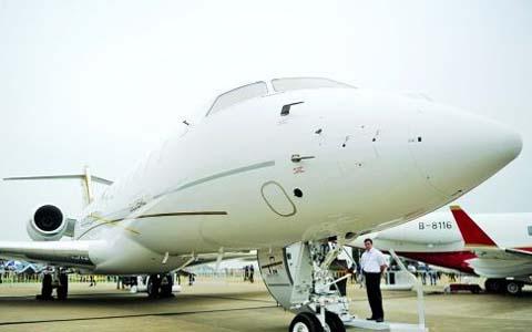 深圳八富豪拥10架私人飞机 价格动辄2亿元以上