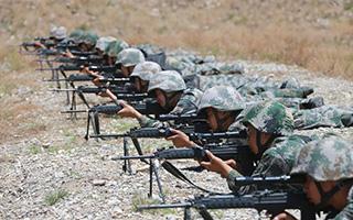 陆军第76集团军某旅:酷暑天气练兵忙