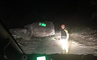 [视频直击]九寨沟半夜强余震 救援队员被震醒