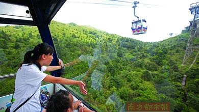 吃美食 坐缆车 探文化 孩子们在香港好欢乐